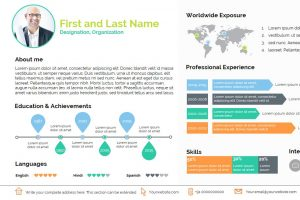 Smart Resume PowerPoint Template